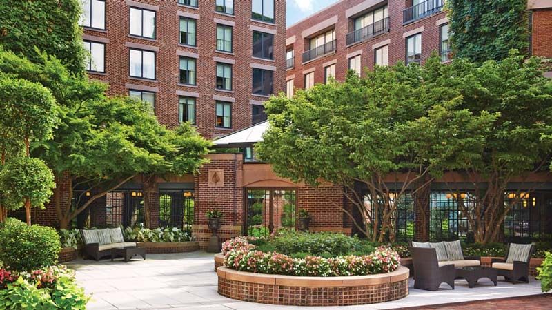 The Four Seasons Hotel in Georgetown - Sustainable event and meeting spaces in Washington, DC