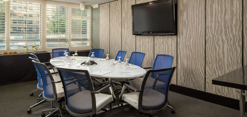 Boardroom at the Liaison Capitol Hill DC, A Joie de Vivre Hotel - Small meeting space in Washington, DC