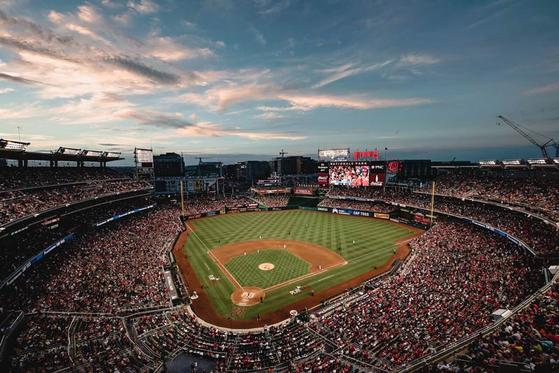 Green meetings and events at Nationals Park - LEED-certified venues in Washington, DC