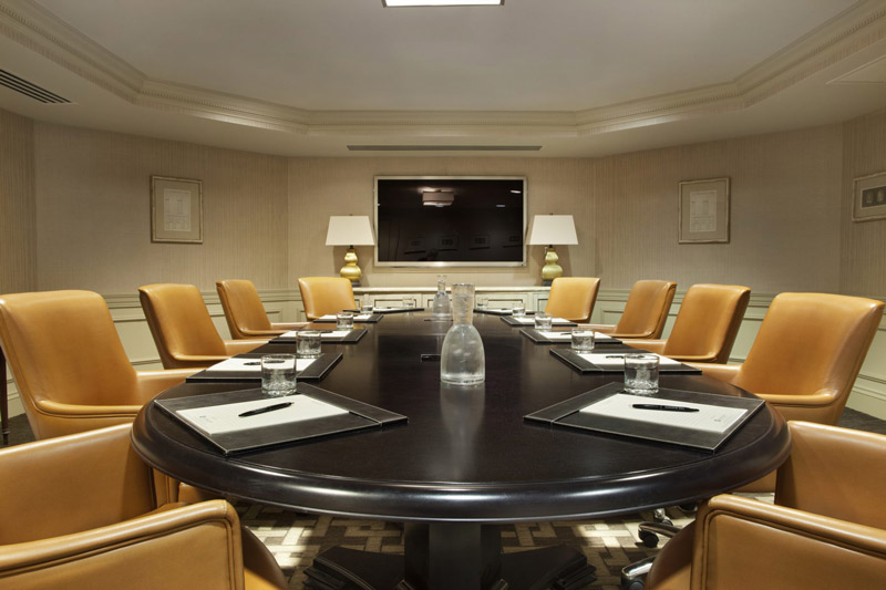 Executive boardroom at The Madison Washington DC, A Hilton Hotel - Great venues for intimate meetings in Washington, DC