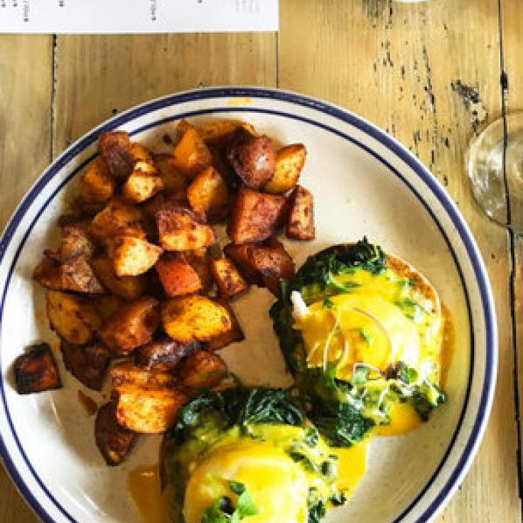 @coryandthecity - Brunch at Roofers Union in Adams Morgan - Places to Eat in Washington, DC