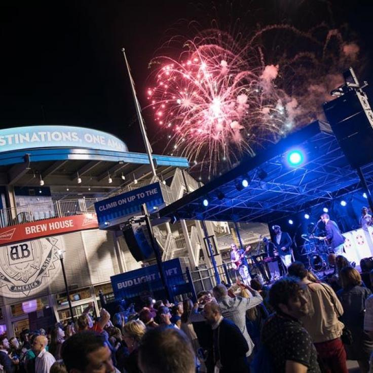 Evening Reception with Fireworks at Nationals Park - Meetings and Conventions in Washington, DC