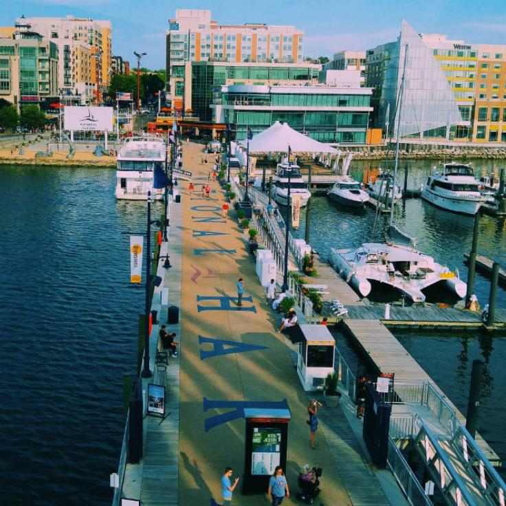 @insta_kenya - Dock at National Harbor in Maryland - Things to Do Near Washington, DC