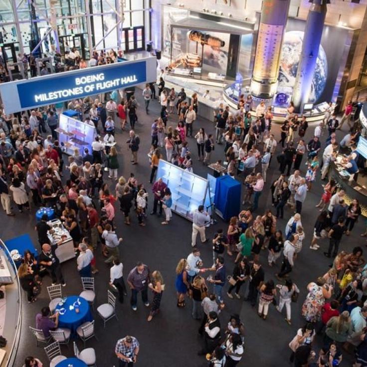 Evening Reception at Smithsonian National Air and Space Museum - Meetings and Conventions in Washington, DC
