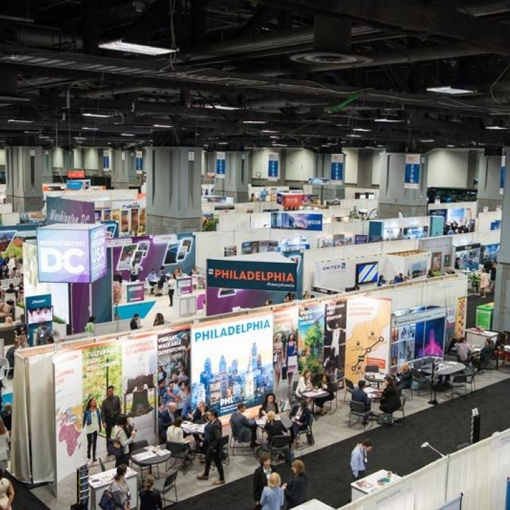 Trade Show Floor at Walter E. Washington Convention Center - Meetings and Conventions in Washington, DC