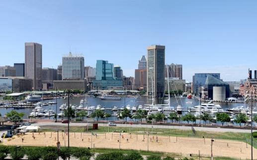 Baltimore, Maryland Inner Harbor