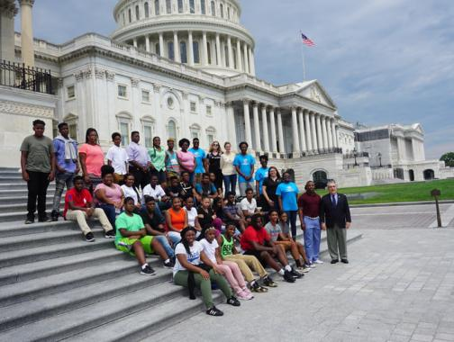 American Experience Foundation Rite of Passage Field Trip in Washington, DC
